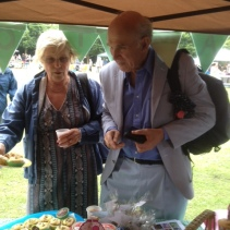 Selling Cakes to MP Vince Cable